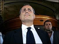 Lazio president Claudio Lotito