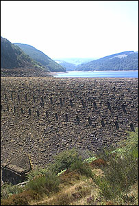 The Elan Valley's reservoirs