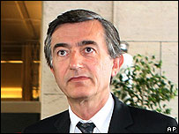 French Foreign Minister Philippe Douste-Blazy in Rome, 26 July 06