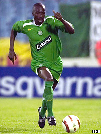 Celtic full-back Mo Camara