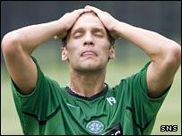 Celtic midfielder Stilian Petrov