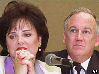 File picture of Patsy and John Ramsey