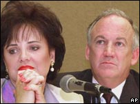 Patsy and John Ramsey in 2000