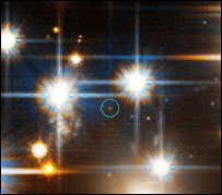 White dwarf: Nasa, ESA and H.Richer