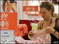 German shopper