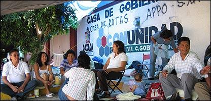 Manifestación en Oaxaca