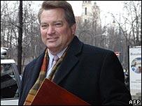 Steven Theede, former Yukos chief executive