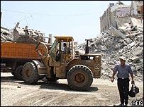 Reconstrucción en Líbano