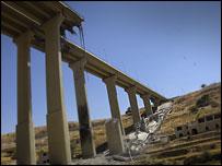 The Mdeirij bridge, Lebanon