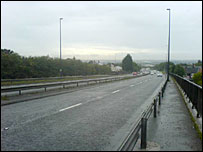 A494 at Aston on Deeside