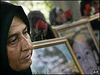 Mourner in Qana