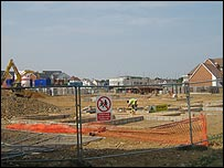 Building site in West Malling