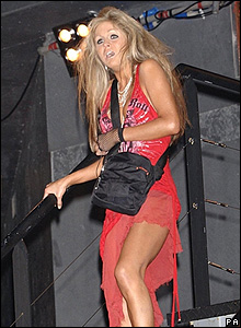 Nikki Grahame leaves the house