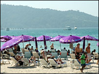 Patong beach, Phuket, Thailand
