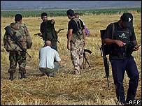 Scene of Israeli raid near Baalbek