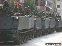 قوات من الجيش اللبناني