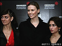 Jauretsi Saizarbitoria, Charlize Theron and Emilia Menocal