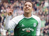Abdessalam Benjelloun was on target at Easter Road
