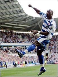 Leroy Lita scored the winner for Reading