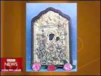 The icon of the Virgin Mary