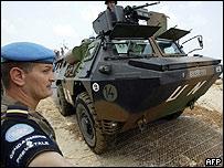 Arriba al Líbano primer contingente francés