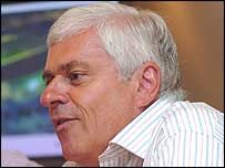 Cardiff City deputy chairman Peter Ridsdale