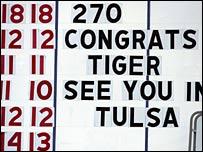 USPGA scoreboard