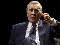 Frank Langella as Richard Nixon