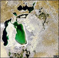 Aral Sea, Esa