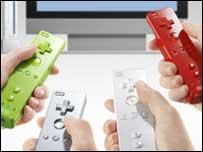 Wii controllers, Nintendo