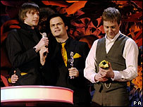 Kaiser Chiefs at the Brit Awards in 2006