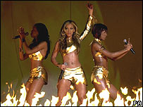 Destiny's Child at the 2001 Brit Awards