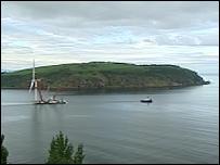 Turbine in Cromarty Firth