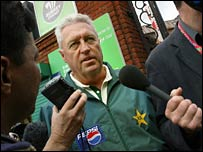 Pakistan coach Bob Woolmer