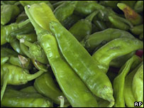 A green chilli pepper (file photo)