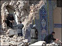 Templo chiita en Samarra