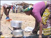 Kenyan squatters