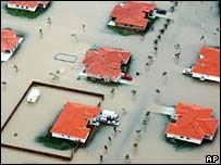 Florida homes underwater