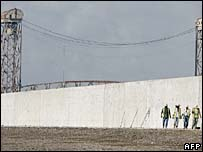 New levee after Katrina
