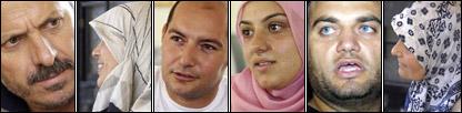 Panel of al-Khiyam residents