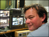 Jonathan Nex leads a team of BBC video editors