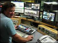 Jonathan Nex leads a team of BBC video editors, sometimes known as picture editors