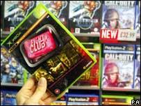 Games on shop shelves, PA