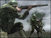 Screenshot from Call of Duty 3, Activision