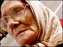 A female pensioner