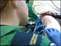Ambulance crew injections