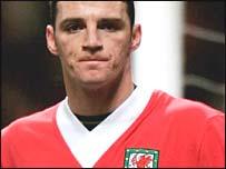 Wales midfielder Jason Koumas