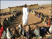 Children in Darfur