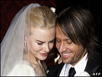 Nicole Kidman and Keith Urban in June 2006