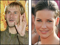 Dominic Monaghan (credit: PA) and Evangeline Lilly (credit: Getty Images)